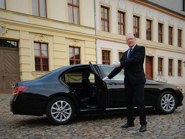 E-Klasse Limousine Welcome Thomas Moritz